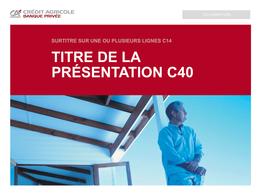 Template PPT - CA Banque Privée