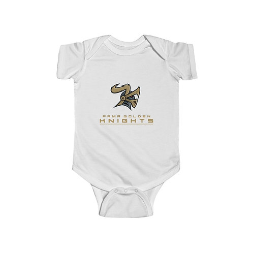 PGKA - Infant Fine Jersey Bodysuit - PGK Full Logo