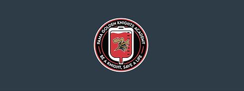 Be a knight save a life logo membership.