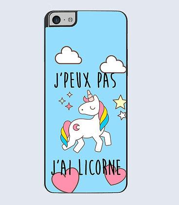 Coque Mobile iPhone licorne citation 101