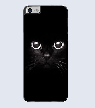 Coque mobile iphone chat noir