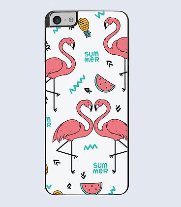 Coque Mobile iphone flamant rose 364