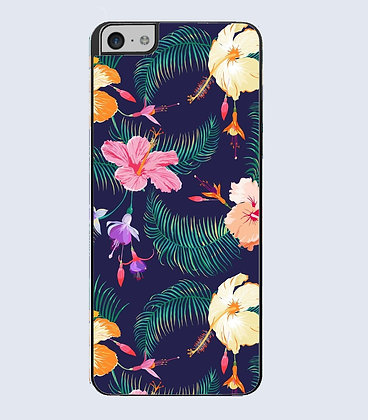 Coque Mobile iphone fleurs tropicale 472