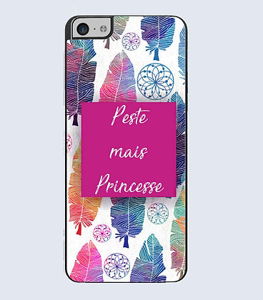 Coque mobile iphone citation peste  princesse
