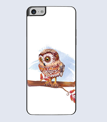 Coque Mobile iPhone hibou 138