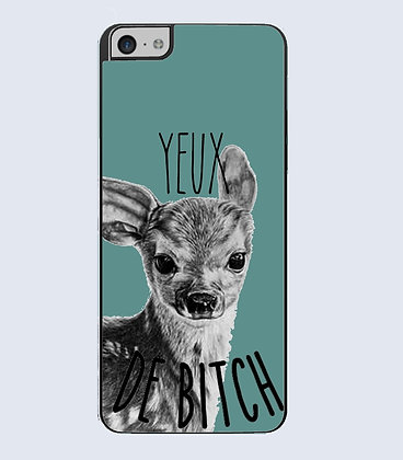Coque mobile iphone yeux de biche