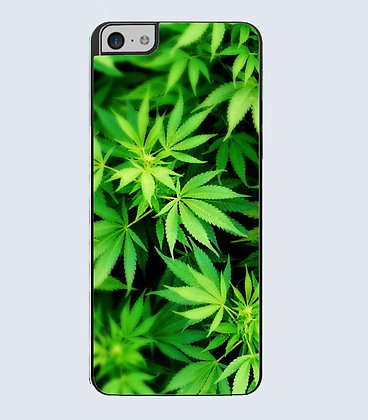 Coque mobile iphone weed feuille cannabis