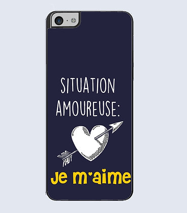 Coque mobile iphone citation amour