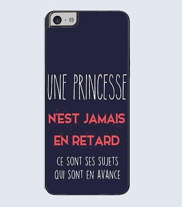 Coque mobile iphone citation princesse