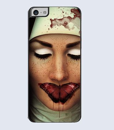 Coque Mobile iPhone visage femme 121