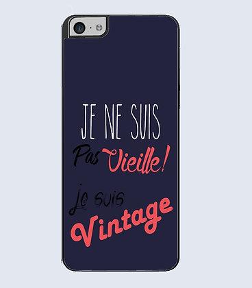 Coque mobile iphone citation vintage