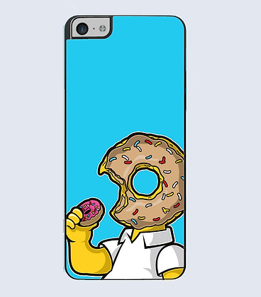 Coque mobile iphone homer