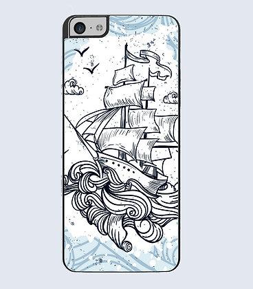 Coque Mobile iphone bateau 157