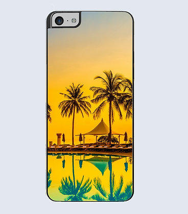 Coque Mobile iphone palmier 446