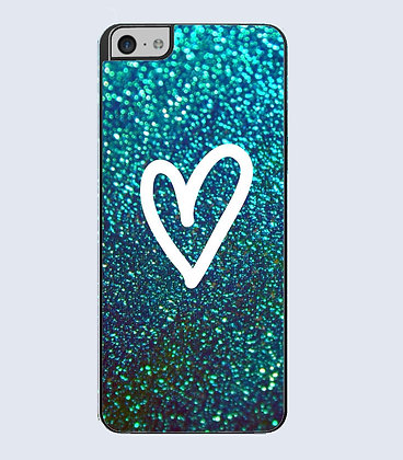 Coque mobile iphone coeur