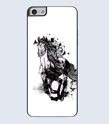Coque mobile iphone cheval
