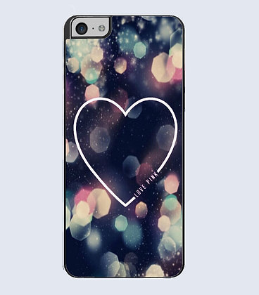 Coque mobile iPhone coeur 608