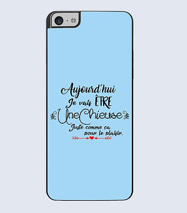 Coque mobile iphone citation chieuse
