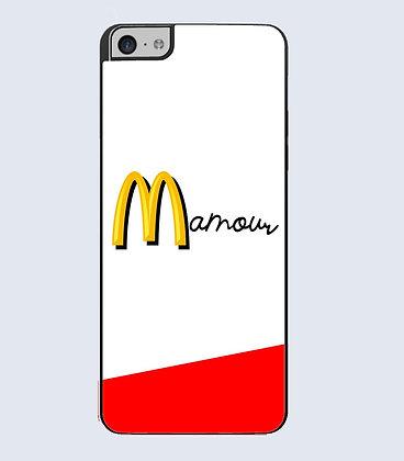 Coque mobile iphone citation mamour