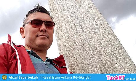 Abzal Saparbekuly, Kazakistan