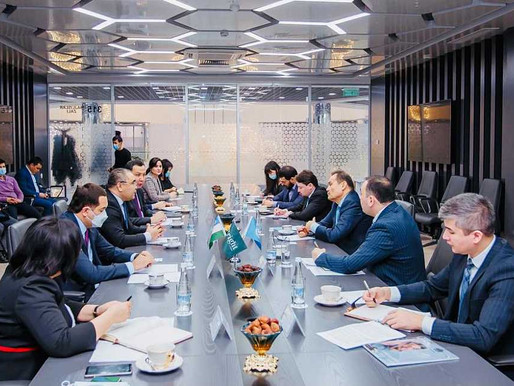 Özbekistan'da Resmi Temaslar