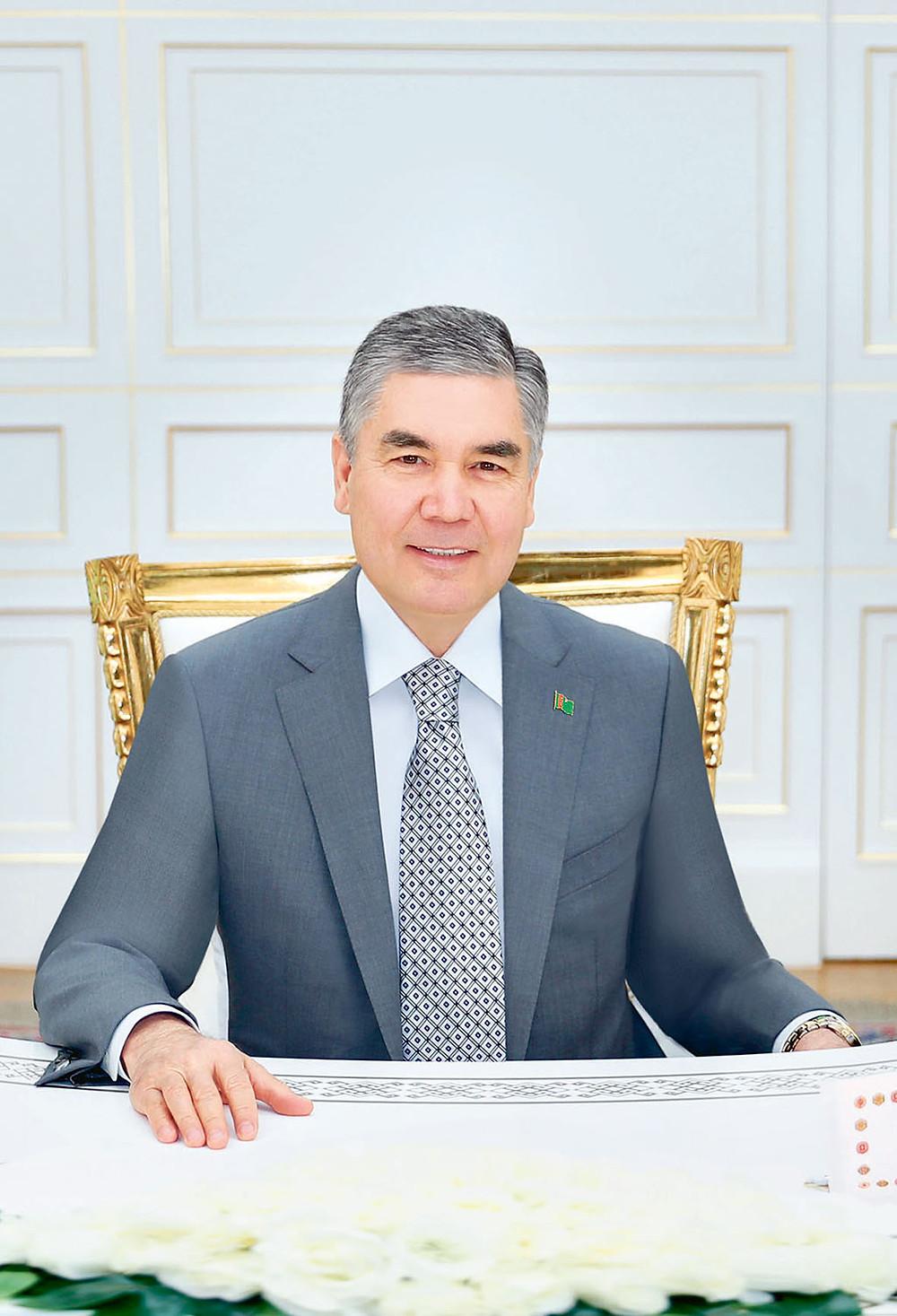 Türkmenistan Devlet Başkanı Gurbangulu Berdimuhammedov