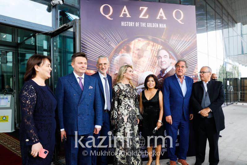 Qazaq: History of the Golden Man; Gala
