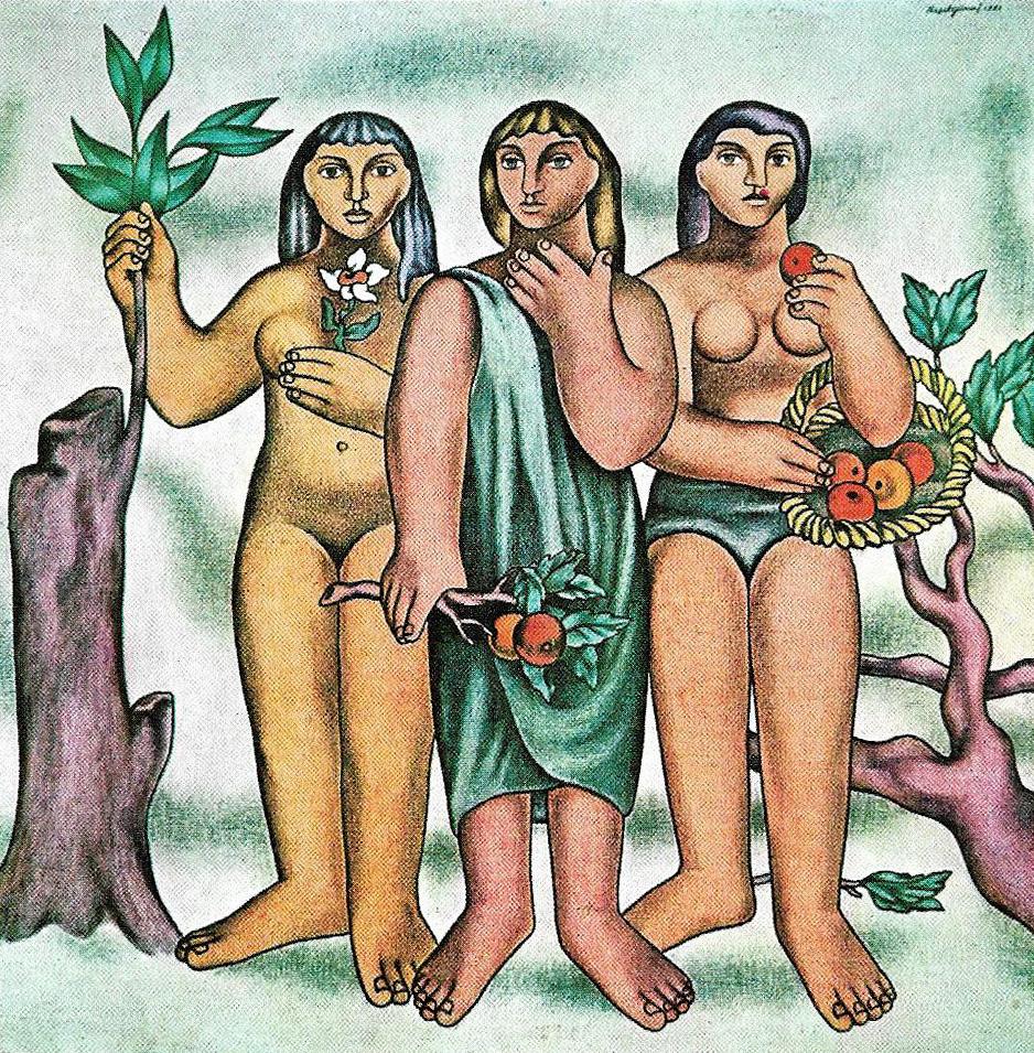 Neşet Günal - Üç Figür