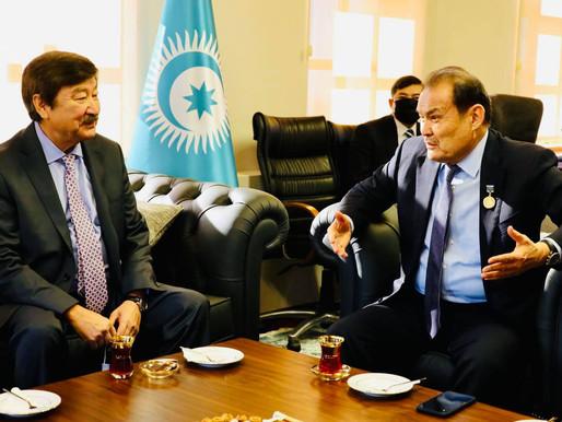 TÜRKSOY'dan Türk Konseyine Ziyaret