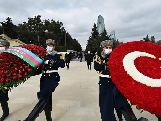 Azerbaycan Zafer Günü Kutlaması