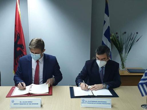 Yunanistan ve Arnavutluk anlaştı