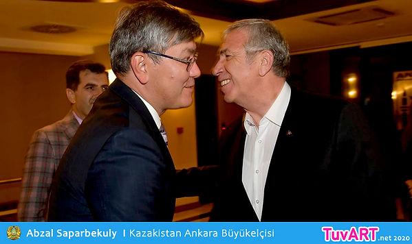 Abzal Saparbekuly, Mansur Yavaş