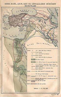 Mısır,Babil,Asur,Met ve Lidyalılar