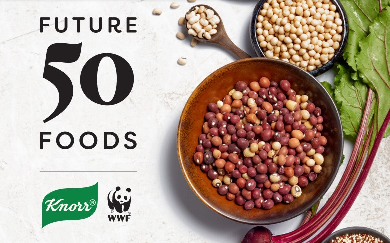 Knor, WWF, Geleceğin 50 Yiyeceği