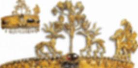 iskit sanatı, altın taç, Türk sanatı