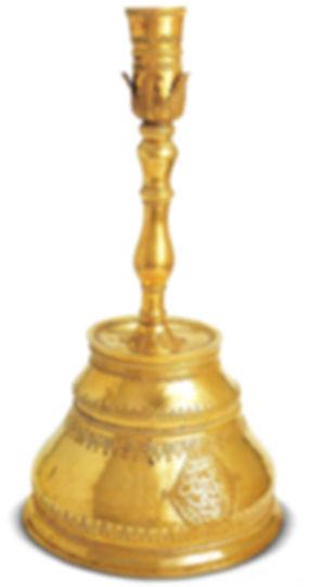 topkapı sarayı eserleri, altın şamdan, Türk sanatı, altın eşya, osmanlı
