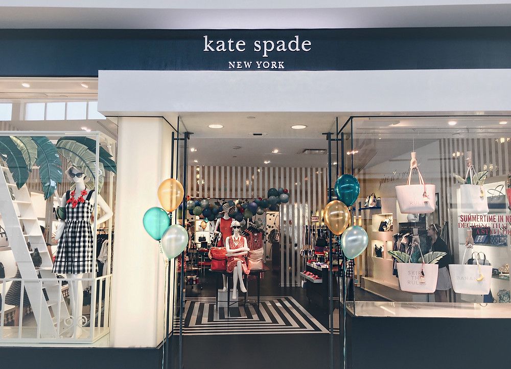 Kate Spade Entrance in the Green Hills Mall