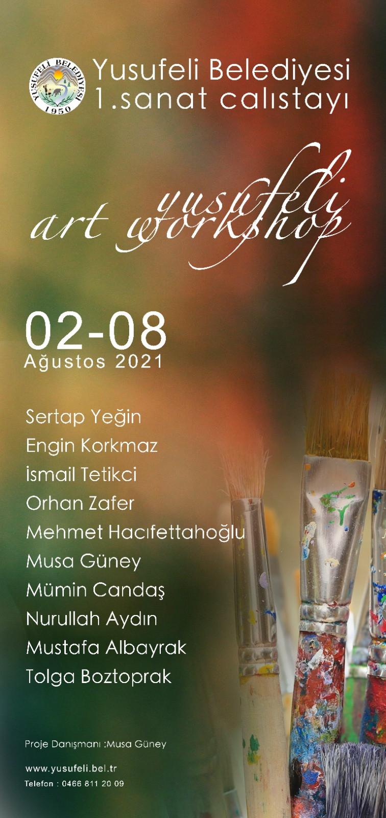 Yusufeli Belediyesi 1. Sanat Çalıştayı  2021