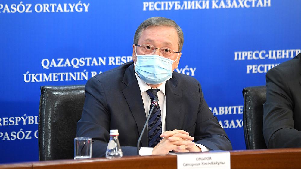 Kazakistan Cumhuriyeti Tarım Bakanı Saparkhan Omarov