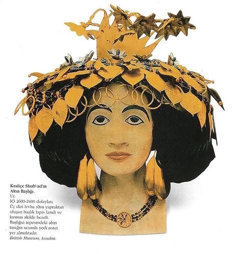 Kraliçe Shub'ad, Ur, Altın Başlık, Türk Sanatı