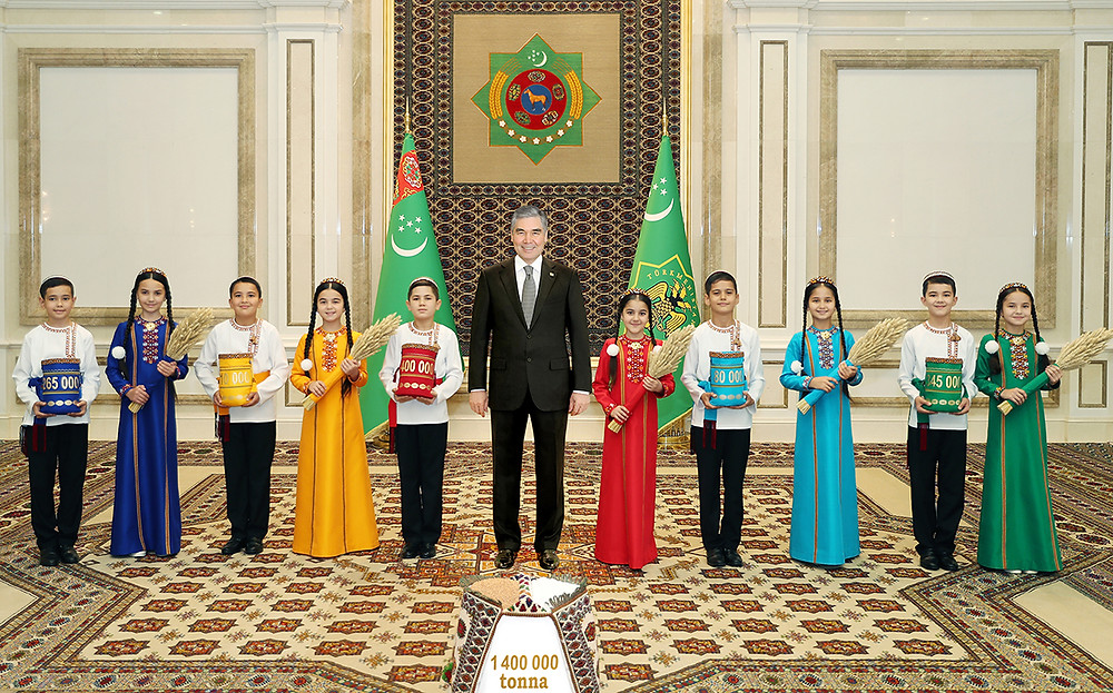 Türkmenistan Cumhurbaşkanı Sayın Gurbanguly Berdimuhamedov