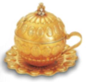 altın şerbet kupası, topkapı sarayı eserleri, osmanlı, Türk sanatı