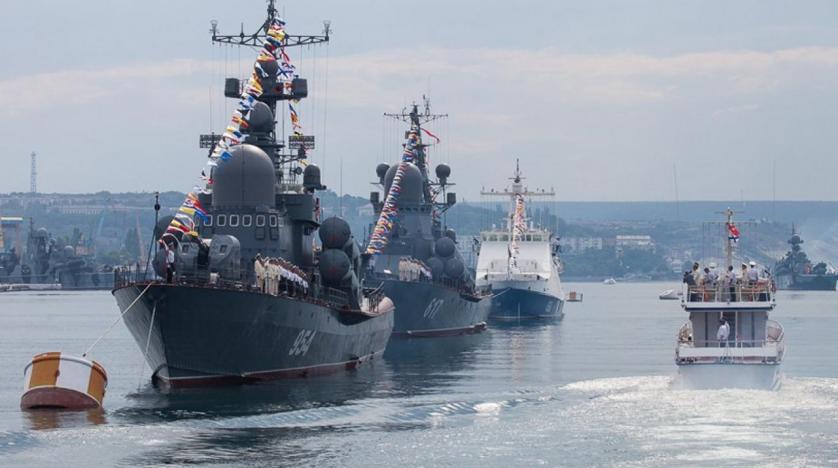 Sivastopol'daki Rus filosu. (Rusya Savunma Bakanlığı'nın internet sitesi)