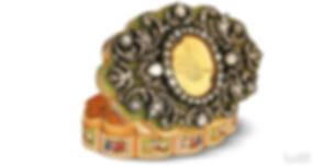 Enfiye Kutusu Osmanlı Altın Sanatı TuvArt