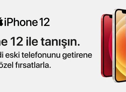 Vatan Bilgisayar'da iPhone12 İndirim Fırsatı