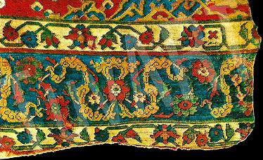 çin bulutu motifi, türk halısı, türk kilimi, türk motifi, türk damgası