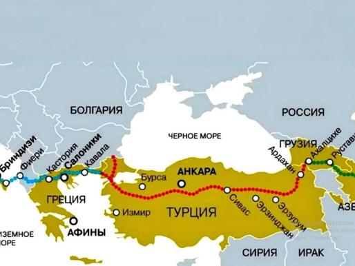 Bakü - Tiflis - Türkiye - İtalya hattı açıldı