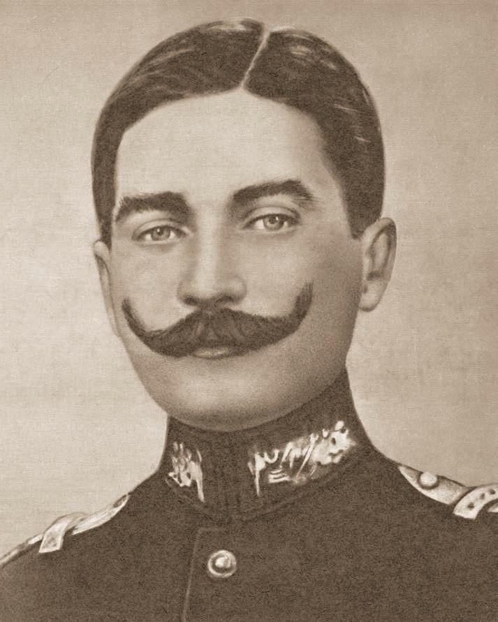 Kurmay Kıdemli Yüzbaşı Mustafa Kemal, Şam, Haziran 1907. Kaynak: T.C. Genelkurmay Başkanlığı