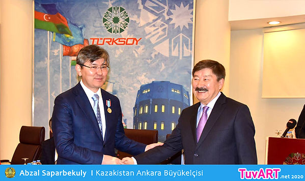 Abzal Saparbekuly, Türksoy