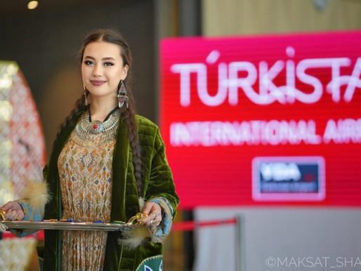 Türkistan Uluslararası Havalimanı Hizmete Girdi
